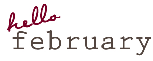 February graphic