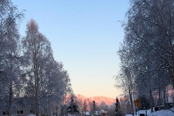Frosty-alpenglow