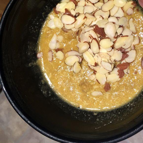 Coconut-pumpkin-pudding
