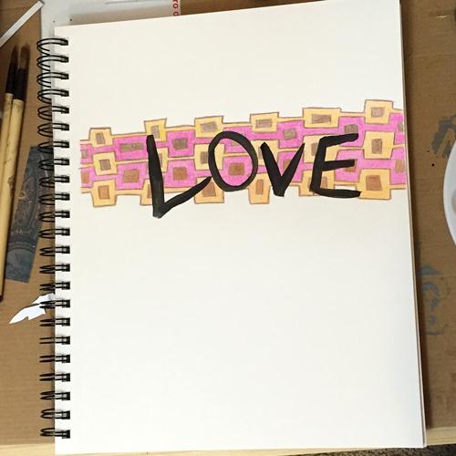 geometric love art